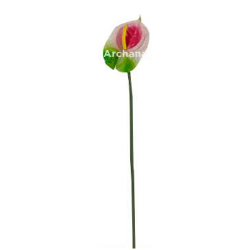26 Inch - Authorium Artificial Flower Stick - Made of Fabric & Plastic