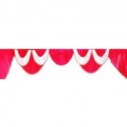 15 Ft Jhalar - Mandap Jhalar For Wedding & Party - Made Of Heavy Brite Lycra Cloth