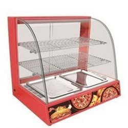 3 Trey - Food Warmer Show Case - Made Of Stainless Steel