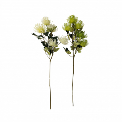 30 Inch - Artificial Flower Bunches - Flower Stick - Made Of Plastic