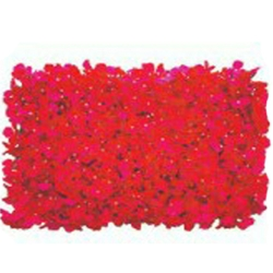 16 Inch X 24 Inch Wall Panel Flowers For Flower Decoration  - Red Color