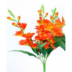 Height 24 Inch - Glad Bunch X 5 - AF- 211 - Leaf Bunch - Red Color