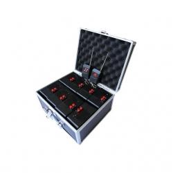 8 Way - Pcs Cold Fire Pyro Controller - Rimote Controller - Black Color