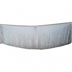 10 FT X 10 FT - Fur Ceiling Jhumar - Entry Gate Jhumar - Top Taiwan - White Color