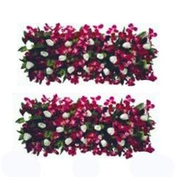 5 FT - Plastic Artificial Flower Pannel - Flower Carry - Flower Decoration - Multi Color