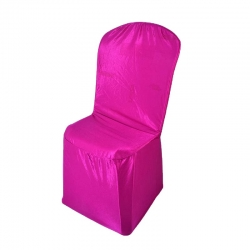 Chandni Chair Cover without Handale For Plastic Chair Light Pink Color .