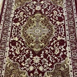 6 FT X 9 FT - Galicha - Carpet - Rugs - Dhurrie - Dari - Floor Mat - Satranji - Made Of Cotton - Brown Color