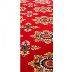 5 FT X 145 FT - Print Carpet - Non Woven Carpet - Mat - Floor Mat - Red Color