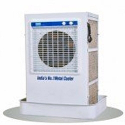 90 LTR - Desert Cooler - Air Cooler - 500 S - Window From Outside The Room & House - White Color