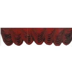 Maroon Color - Jhalar - Mandap Jhalar For Wedding & Party - Made of Heavy Brite Lycra Cloth