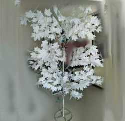 5 FT - Artificial Flower Tree - Flower Plant With Stand - Flower Decoration - White Color