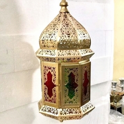 18 Inch - Decorative Lanterns - Hanging Lanterns - Khandil - Made of Iron.