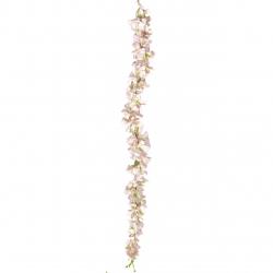 2.8 FT - Plastic Artificial Flower - Latkan - Flower Decoration - Peach Color