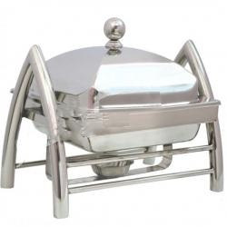 5 LTR - Chafing Dish - Hot Pot Dish - Garam Set - Buffet Set - Made Of Stainless Steel.(6 Kg)