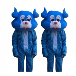 Adult Costume - Party Mascot - Made of High Quality Plush Material - Set Of 2