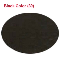 Micro Janta Quality - 39 Inch Panna - 5.7 KG Quality - Black Color