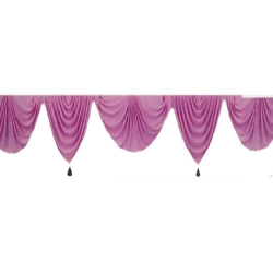 Pink Color - Jhalar - Mandap Jhalar For Wedding & Party - Made of Heavy Brite Lycra Cloth
