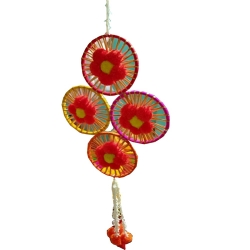 2 FT - Wall Hanging Jhumar - Fancy Hanging - Multi Color