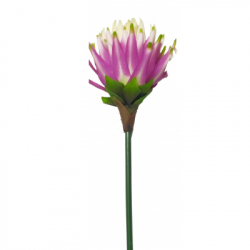 34 Inch - Kishanti Artificial Flower Stick - Made of Fabric & Plastic