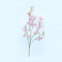 30 Inch - Chameli Artificial Flower Stick - Made Of Fabric & Plastic