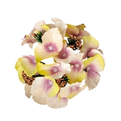 6 Inch - Loose Flower - Artificial Flower - Ceiling Flower - Flower Decoration - Multi Color