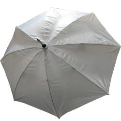 24 Inch Height & 28 Diameter - Umbrella Handicraft Walking Stick Umbrella - Grey Color