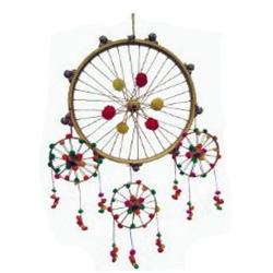 3 FT - Jhumar - Hanger Wood - Decorative Jhumar - Multi Color .