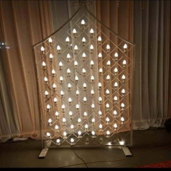 5 FT - Fancy Decorative Light Stand Indoor & Outdoor - Fancy Stand With Light & Wire - Golden Color