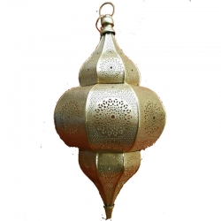 20 Inch - Decorative Lanterns - Hanging Lanterns - Kandil - Made Of Iron.