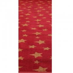 5 FT X 145 FT - Glitter Carpet - Non Woven Carpet - Mat - Floor Mat - Brown Color