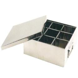 1 KG - 9- Khana Masala Peti - Made Of Stainless Steel