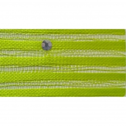 Sparkle Tikli Work Cloth - 52 Inch Panna - 10 Meter Quality - Drapping Cloth - Parrot Green Color