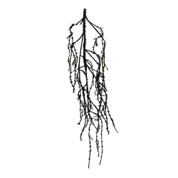 58 Inch Artificial Roots  - Flower Decoration - AF - 310 - Brown & Green Color