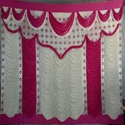 12 FT X 15 FT - Designer Curtain - Parda - Stage Parda - Wedding Curtain - Mandap Parda - Back Ground Curtain - Side Curtain - Made Of 24 Gauge Brite Lycra - Multi Color