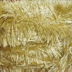 Decoration Sparkled Fur - Golden Color