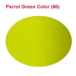 Micro Janta Quality - 39 Inch Panna - 5.7 KG Quality - Parrot Green Color