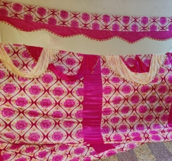 11 FT X 15 FT - Parda - Curtain - Stage Parda - Wedding Curtain - Mandap Parda - Made of Brite Lycra & knitting Cloth.