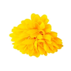 2.5 Loose Flower - Artificial Regular Quality Flower For Wedding Ceiling Flower - Yellow Color