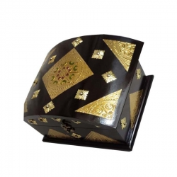 11 INCH - Handmade Decorative - Wooden Jewellery Box