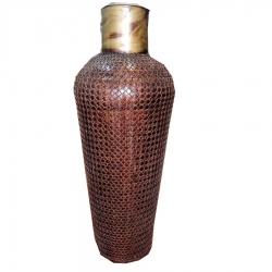 30 INCH - Iron Flower Vase - Antique Showpiece - Pot Beautiful Decor Article