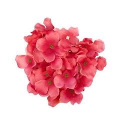 6 Inch - Loose Flower - Artificial Flower - Ceiling Flower - Flower Decoration - light Red Color