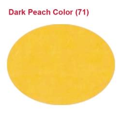 Rotto Cloth - 39 Inch Panna - Event Cloth - 5.7 Kg Quality - Dark Peach Color