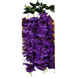 Height - 36 Inch - Artificial Creeper - Latkan - Flower Decoration - Artificial Latkan - Plastic Latkan - AF 533 - Purpule Color