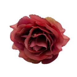 4 Inch - Loose Flower - Artificial Flower - Ceiling Flower - Flower Decoration - Brown Color
