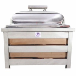 7.5 LTR - Rose Gold Chafing - Chafing Dish - Hot Pot - Made Of Stainless Steel