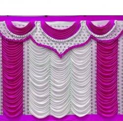 10 FT X 15 FT - Parda - Curtain - Stage Parda - Wedding Curtain - Mandap Parda - Made Of Brite Lycra - Multi Color