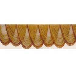 Golden Color - Jhalar - Transparent Cloth - Mandap Jhalar For Wedding & Function