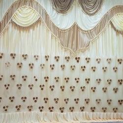 10 FT X 15 FT - Parda - Curtain - Stage Parda - Wedding Curtain - Embroidery Parda - Brite Lycra