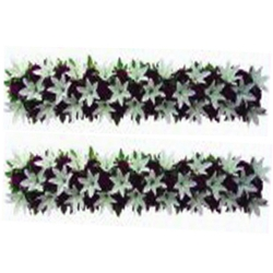 4 FT - Plastic Artificial Flower Panel - Flower Carry - Flower Decoration - Multi Color