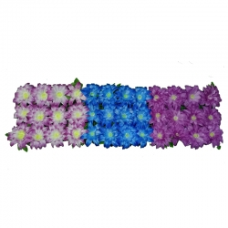 4 Feet Plastic Artificial Flower Pannal - Main Door Hanging For Wedding & Decoration ( With out foam at back )